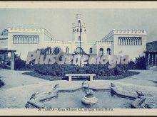 Plaza de alfonso xii, antigua santa maría en tarifa