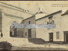Puerta de san bartolomé de carmona (sevilla)