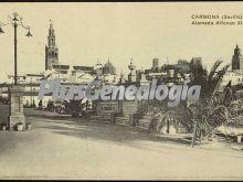Alameda alfonso xiii de carmona (sevilla)