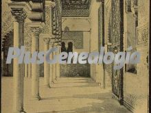 Galería del patio de las doncellas del alcázar de sevilla