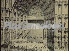 Puerta principal de la catedral de sevilla
