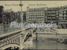 Boulevard del arenal y puente de bilbao