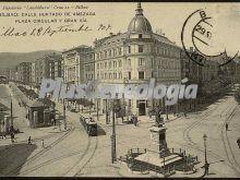 Calle hurtado de amezaga, plaza circular y gran vía de bilbao