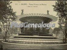 Kiosco de música del arenal de bilbao