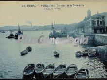 Dársena de la benedicta en portugalete (bilbao)