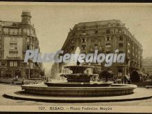 Plaza federico moyúa de bilbao