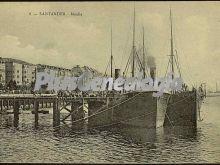 Muelle del puerto de santander