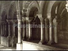 Exterior de la sala capitular del monasterio de santa maría de veruela (zaragoza)