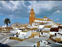 Vista parcial de la parroquia nuestra señora de las nieves de los palacios (sevilla)