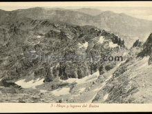 Hoya y laguna del buitre en gredos (ávila)