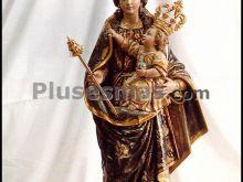 Obra de francisco liza alarcón de la patrona de guadalupe (murcia)