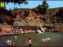 Fuentes y Grutas Les Déus-San Quintín de Mediona. Lago y Fuentes en barcelona