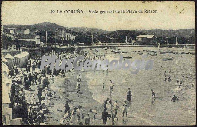 Playa de Riazor en La Coruña