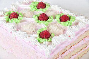 Tarta de fresas 'express'