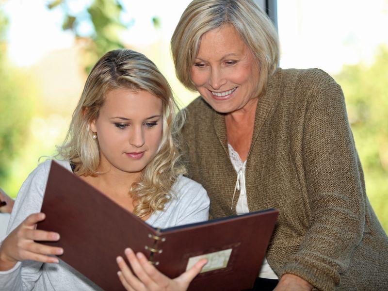 ¿Transmites a tus nietos tus conocimientos, valores y experiencias?