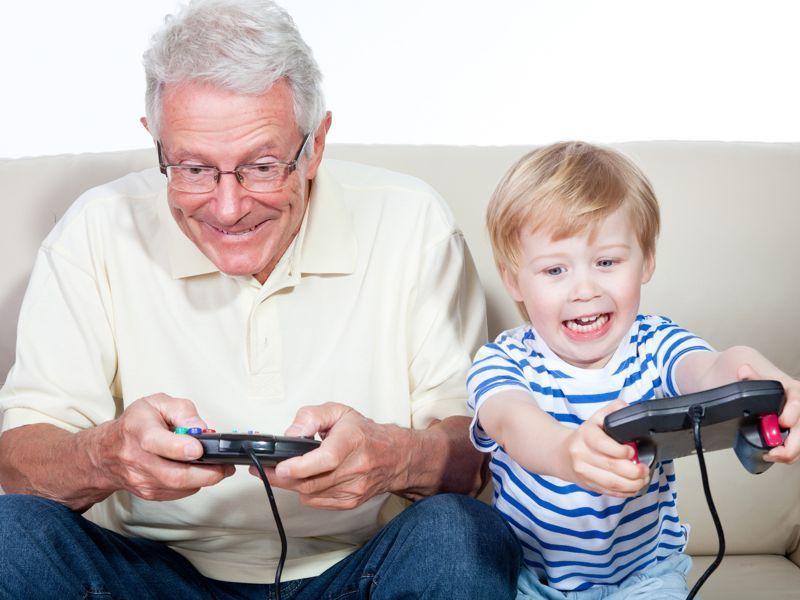 ¿Compartes ocio y diversión con tus nietos de manera frecuente?