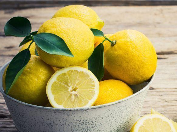 Inhalación de limón