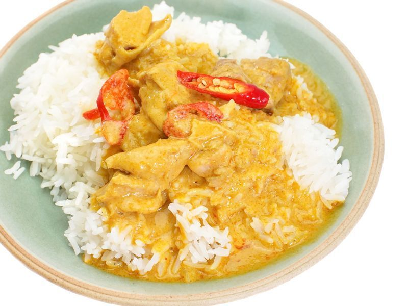 Arroz al curry