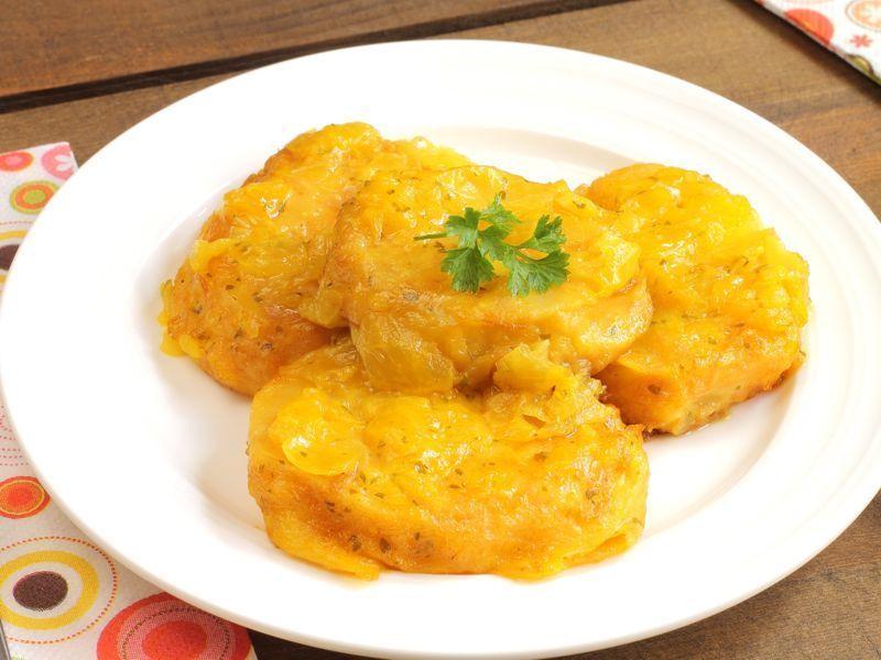 Pastelitos de patatas con nueces
