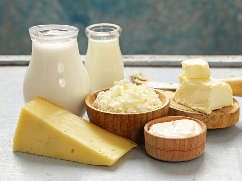 Fuera productos lácteos