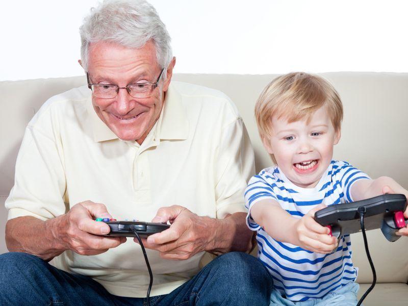 Aunque no entiendas ni la mitad, ¿tratas de compartir momentos de tecnología con tu nieto (ordenador, videojuegos, móvil...)?