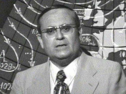 Mariano Medina, 'El hombre del tiempo'