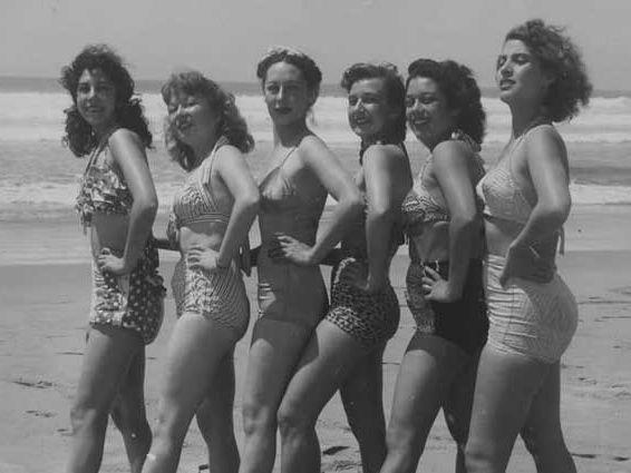 Los primeros bikinis