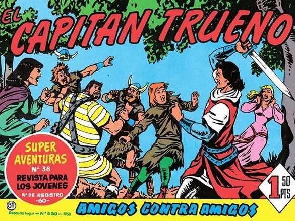 Tebeo 'El Capitán Trueno'