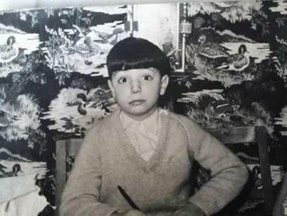 Vidal del Val, en su primer colegio (1964)