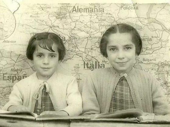 En la escuela de Anguita (GU), en la segunda mitad de los años 50