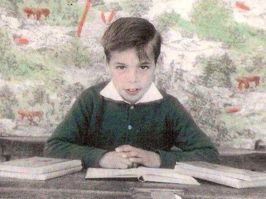 José Luis Rodriguez Mesa, en el Colegio Nacional mixto Santa Catalina de Mestanza, Ciudad Real