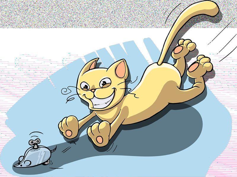 Juego de 'El ratón y el gato'