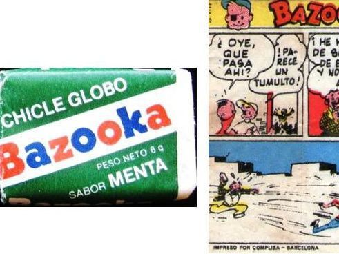 1. Chicles Bazooka