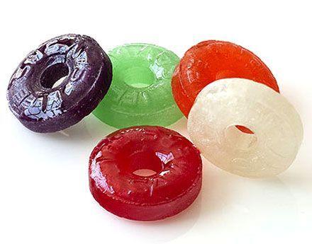 ¿Cómo se llaman estos caramelos?