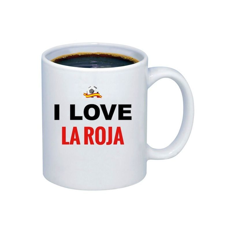 Taza 'I love La Roja''
