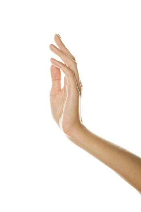 Extesión de la mano