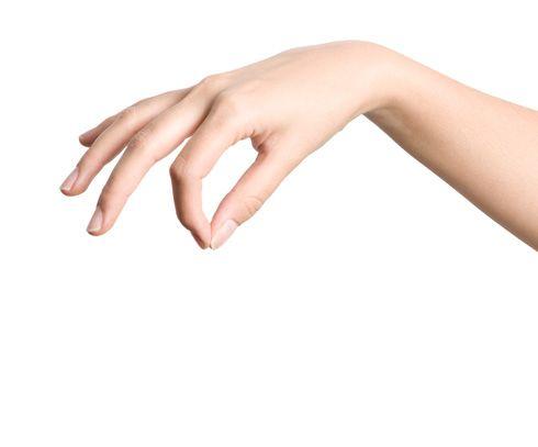 Flexión de la mano