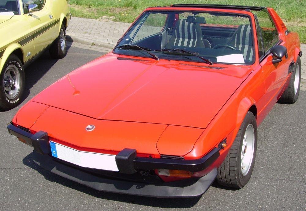 Fiat Bertone X1/9 (1972-1989)