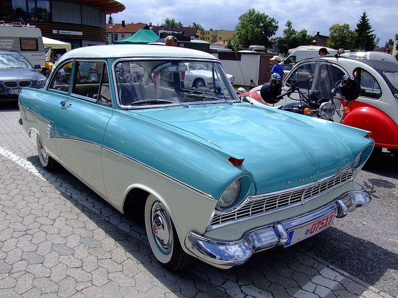 Ford Taunus 17M P2 (1961)