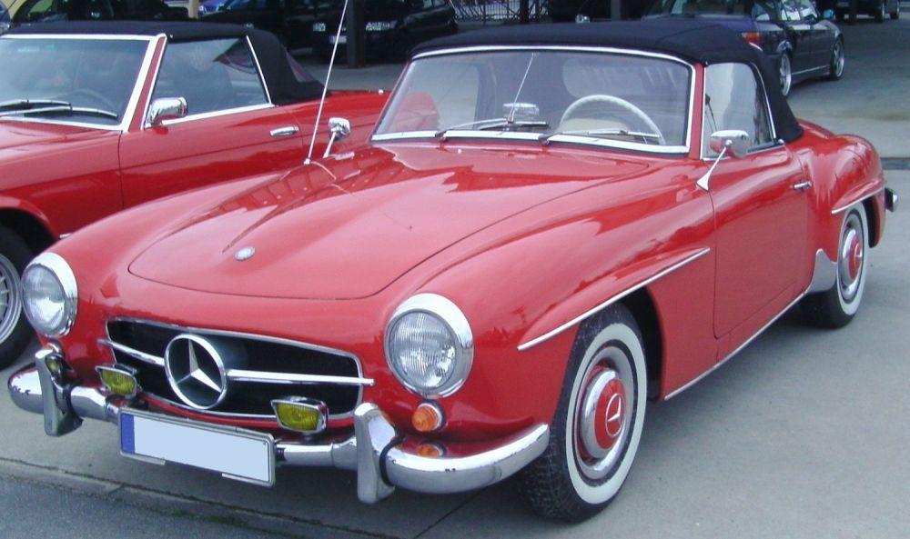 Mercedes Benz 190 SL (1955-1963)