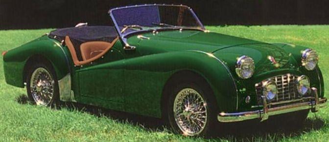 TRIUMPH TR3 (1955-1957)