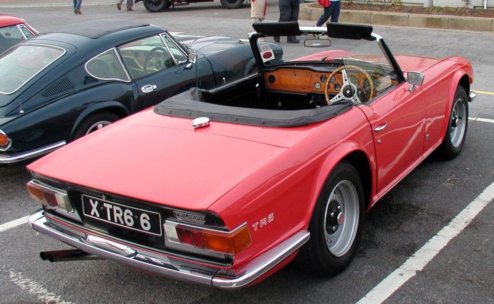 TRIUMPH TR6 (1969-1976)