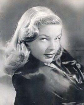 Peinado pin-up de Lauren Bacall
