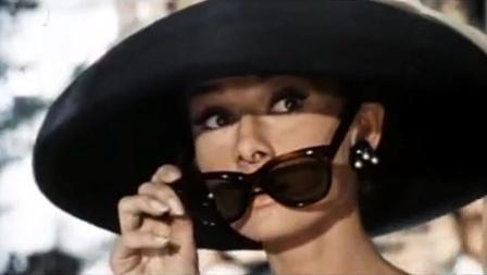 Gafas de Audrey Hepburn
