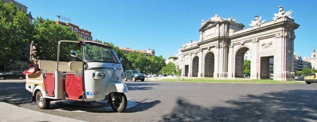 Vuelve el motocarro: un paseo por Madrid al estilo asiático