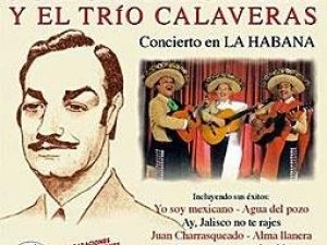 Jorge Negrete y El Trío Calaveras