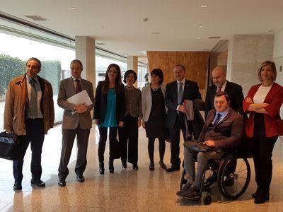 Castilla y León, con las personas con discapacidad