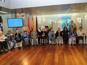 Homenaje a los centenarios madrileños