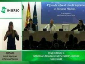 Amma participa en la 4ª Jornada sobre el Uso de Sujeciones en Personas Mayores del IMSERSO