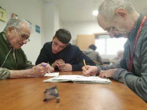Amavir Alcalá participa en el programa intergeneracional 'Su pasado, nuestro futuro' del Ayuntamiento del municipio